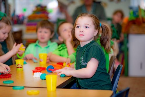 Saint Patrick School Preschool Early Education