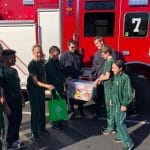 Giving to our fire fighters